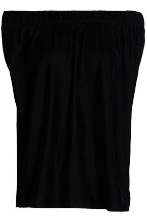 BAILEY 44 Ritual off-the-shoulder velvet top