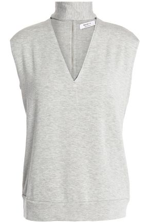 BAILEY 44 Sammy cutout stretch-modal sweatshirt