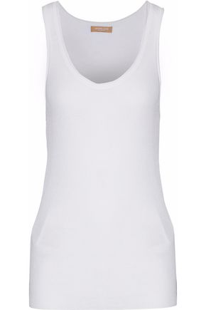 MICHAEL KORS COLLECTION Ribbed cotton-jersey tank