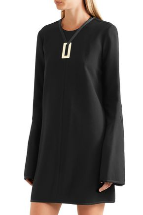 ELLERY Preacher embellished crepe mini dress