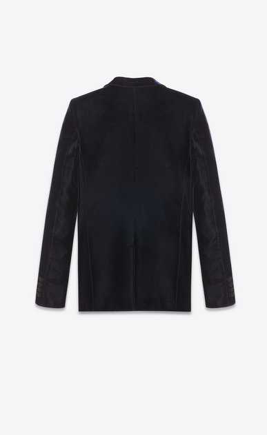 SAINT LAURENT Tuxedo Jacket Woman Tube tuxedo jacket in velours Saint Laurent b_V4