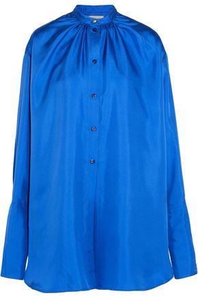 ROKSANDA Kiyoko oversized silk-satin blouse