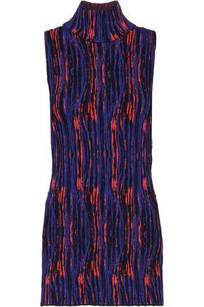 SOLACE LONDON Ruby ribbed jacquard-knit turtleneck top