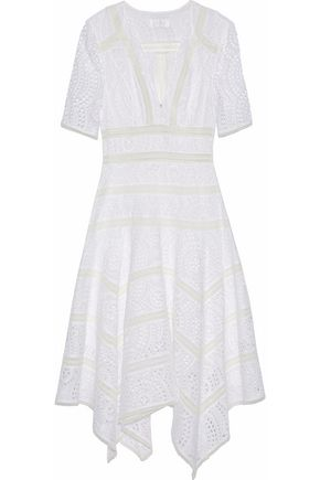 ZIMMERMANN Meridian broderie anglaise cotton dress