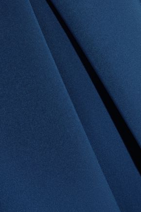 PREEN by THORNTON BREGAZZI Palmer wrap-effect pleated crepe midi dress