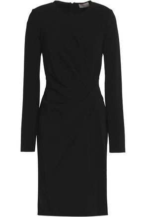 LANVIN Gathered crepe dress