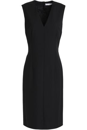 LANVIN Wool-crepe dress