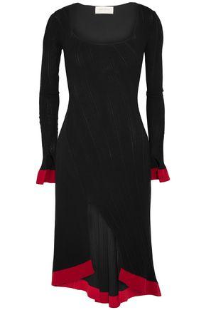 ESTEBAN CORTAZAR Kita two-tone knitted dress