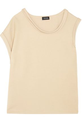 ATLEIN Asymmetric stretch-jersey top