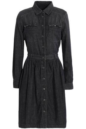 7 FOR ALL MANKIND Distressed denim dress
