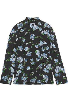 EMILIA WICKSTEAD Rhonda floral-print crepe blouse