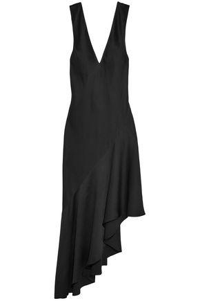 HAIDER ACKERMANN Asymmetric crepe de chine gown
