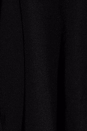 AUTUMN CASHMERE Cutout stretch-knit halterneck sweater