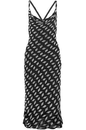 CUSHNIE ET OCHS Beaded silk-chiffon dress