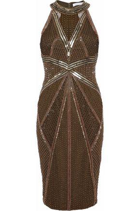 RACHEL GILBERT Thyra embellished tulle dress