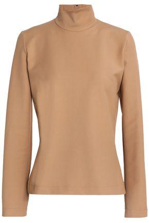 MSGM Stretch cotton-blend turtleneck tunic