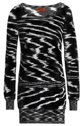 MISSONI Printed ribbed cotton sweater