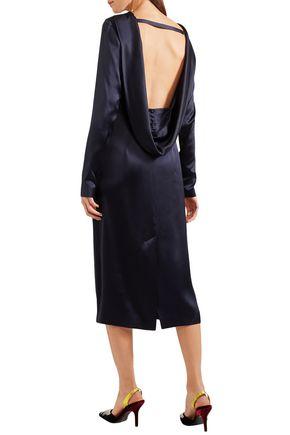 GABRIELA HEARST Belle open-back silk-satin midi dress