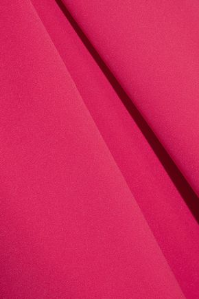 PREEN by THORNTON BREGAZZI Palmer pleated stretch-crepe midi dress