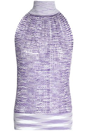 MISSONI Open-knit halterneck top