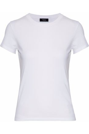 THEORY Pima cotton-blend jersey T-shirt