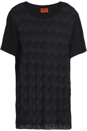 MISSONI Crochet-knit T-shirt