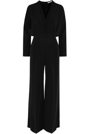 WOMAN SALLY-ANNY CREPE JUMPSUIT BLACK