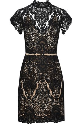 CATHERINE DEANE Java guipure lace dress