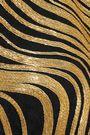 BALMAIN Chain-embellished silk-crepe halterneck top