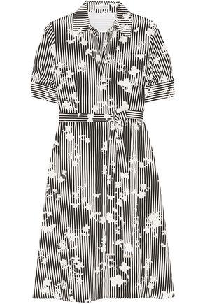 ALTUZARRA Kieran printed silk crepe de chine shirt dress
