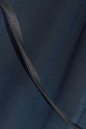 RAG & BONE Rosa satin-paneled silk jumpsuit