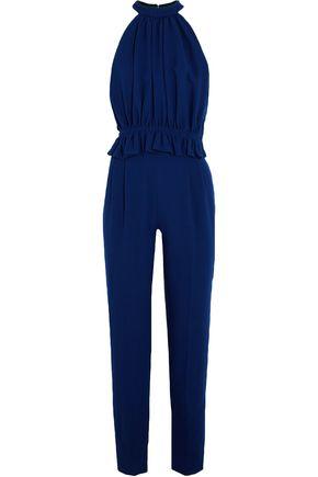 EMILIA WICKSTEAD Everette wool-crepe jumpsuit