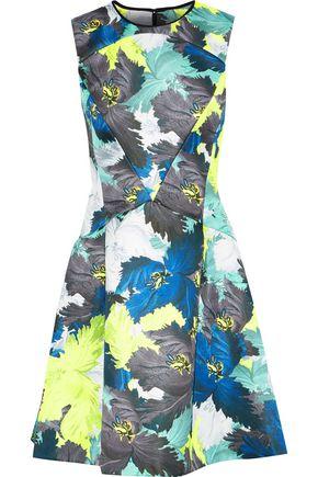 ERDEM Edie floral-print duchesse-satin dress