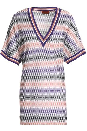 MISSONI Crochet-knit tunic