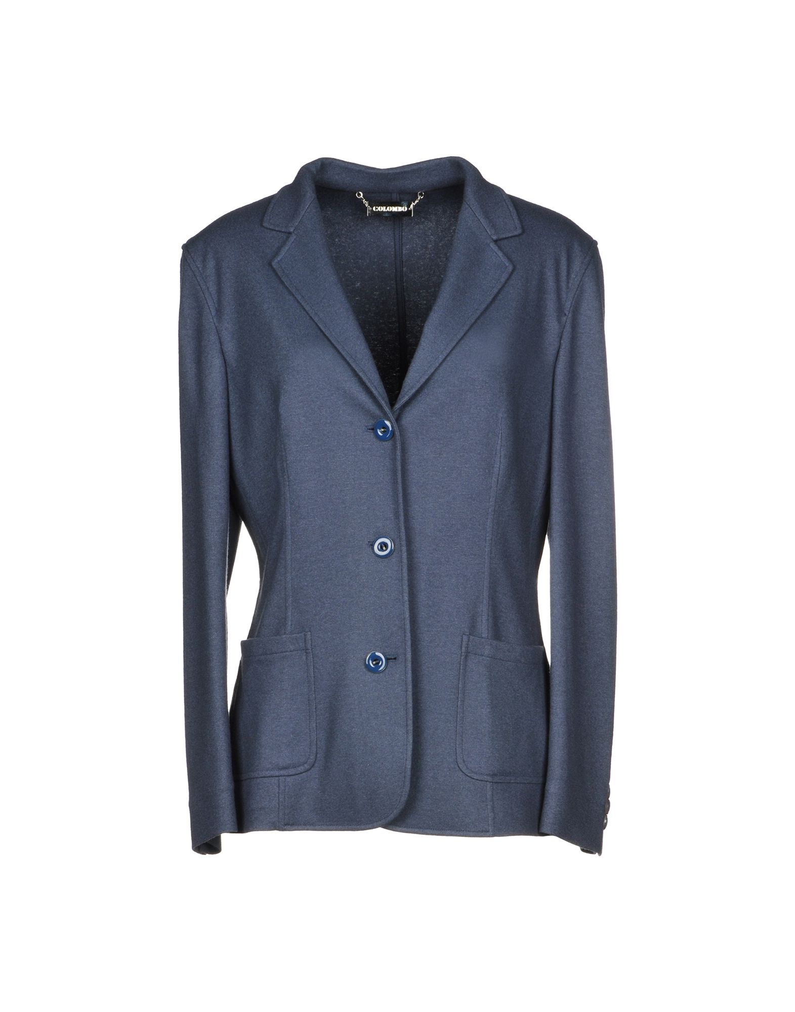 COLOMBO Blazer in Slate Blue