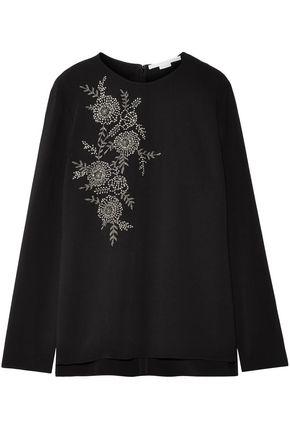STELLA McCARTNEY Embellished cady top