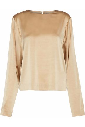 TOTÊME Margaux silk-blend satin blouse