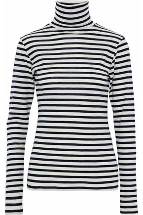 TOTÊME Nancy striped wool turtleneck top