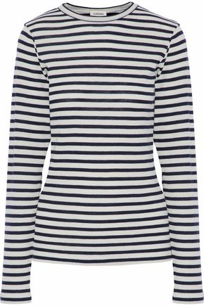 TOTÊME Valbonne striped wool top