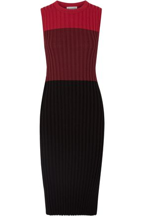 ALTUZARRA Mariana color-block ribbed-knit dress