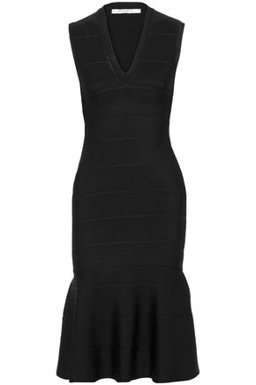 GIVENCHY Fluted stretch-knit dress