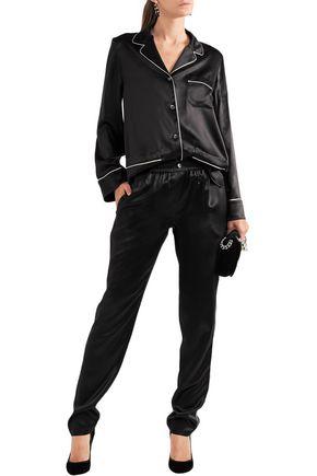 3ea1266f97a0db DOLCE   GABBANA Silk-satin shirt