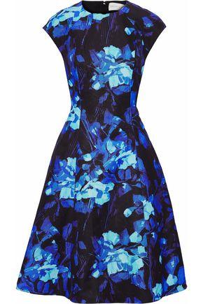 SACHIN & BABI Printed cotton-blend faille dress