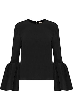 ROKSANDA Truffaut fluted cady top