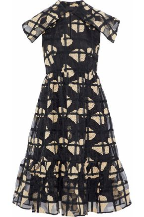 CO Embroidered organza dress