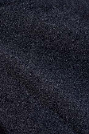 THE ROW Tharpe oversized satin-crepe mini dress