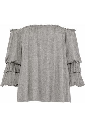 BAILEY 44 Regalia off-the-shoulder stretch-jersey top