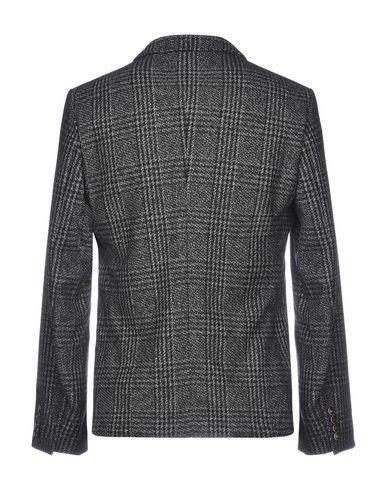Фото 2 - Мужской пиджак  черного цвета