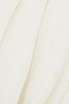 CHLOÉ Embroidered silk shirt