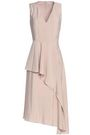 Draped Satin Dress by House Of Dagmar